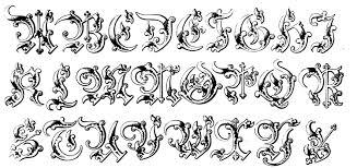134 dessins de coloriage alphabet à imprimer