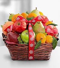 christmas fruit baskets gift ideas collectibles delivered ftd