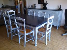 Table Salle A Manger Rustique by Attrayant Table Salle A Manger Bois 5 Relooking Et Meubles
