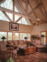 log cabin house plan living room photo 01 plan 073d 0021 house