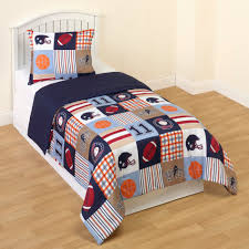 Sports Themed Duvet Covers Crb Sports Twin Comforter Set