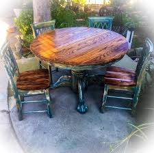 table marvellous farmhouse shabby chic pedestal table and 4 chairs