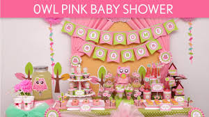 owl baby girl shower decorations owl pink baby shower ideas owl pink s23