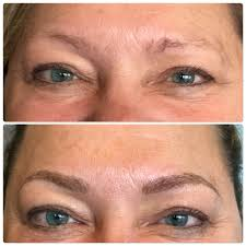 eyebrow embroidery feathering or etching microblading