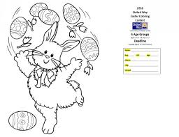 easter coloring contest united miami county