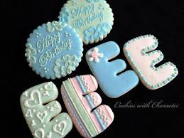 259 best cookies numbers and letters images on pinterest
