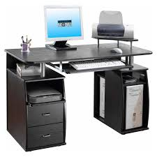 Techni Mobili Graphite Frosted Glass L Shaped Computer Desk Furniture Inspiring Modern Office Furniture Design Ideas With