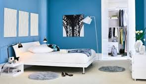 couleur de la chambre chambre couleur bleu idées décoration intérieure farik us