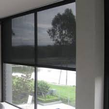 Sunscreen Roller Blinds Screen Blinds When You Need Privacy But Still Want To See