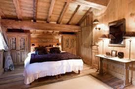 decoration de montagne decoration chambre bois montagne design de maison