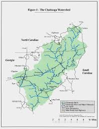 Georgia South Carolina Map Chattooga River Watershed Coalition Conservation Technology