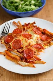 needs pizza who needs pizza when you you can have pizza fries it s the weekend