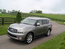 infiniti qx56 hood test drive infiniti qx56 u2013 our auto expert