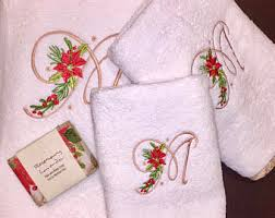 christmas towels personalized christmas towels etsy
