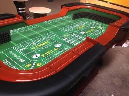 Craps Table In Stock 99 U0027 U0027 Craps Table With Extra Features