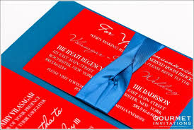 Wedding Invitations India Indian Fusion Wedding Invitations Gourmet Invitations