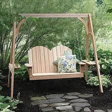 Backyard Swing Ideas Cypress Porch Swing Ideas Jbeedesigns Outdoor