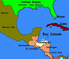 america map honduras honduras maps and locator maps for roatan island