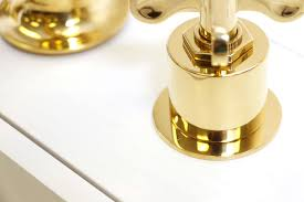 Unlacquered Brass Faucet Waterworks by Waterworks Henry Lavatory Set With Drain In Unlacquered Brass