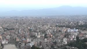 Show Me A Map Of Nepal by Kathmandu The Capital City Of Nepal Youtube