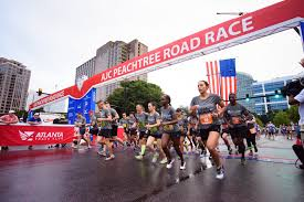 thanksgiving atlanta half marathon military team competition returns for 2016 ajc peachtree road race