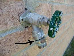 Leaking Outside Faucet Handle Outdoor Faucet Leaking