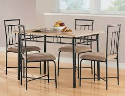 Discount Kitchen Table And Chairs by Polyurethane Cotton Slat Brown Solid Oak Cheap Kitchen Table And