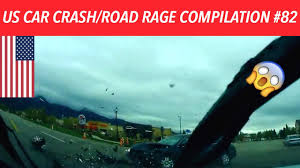 us only american car crash road rage compilation 82