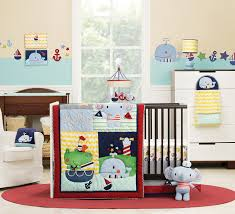 decor winsome chameoelon whale baby bedding with anchor crib