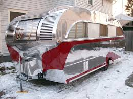 vintage trailer restoration 1947 aero flite camping trailer
