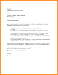 unique appeal letter sample for resume for a job