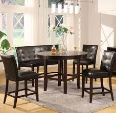 Counter High Dining Room Sets by Modus Bossa 54 Inch Round Counter Height Dining Table Beyond Stores