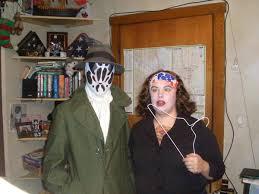 Rorschach Halloween Costume Surly Robot Robots Apes Zombies Cavemen 3