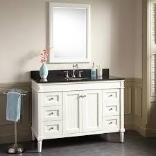 White Bathroom Vanity Cabinet 48