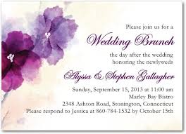 wording for day after wedding brunch invitation day after wedding invitation wording matik for
