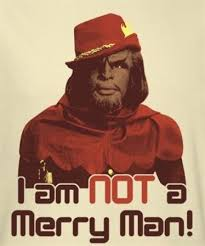 trek t shirt worf i am not a merry nerdkungfu