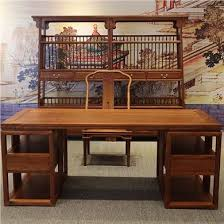 High End Computer Desk Videos Chinese Rosewood Case Of High End Mahogany Furniture Desk