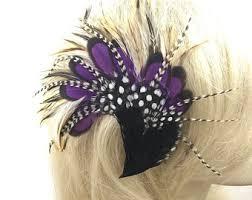 feather hair clip feather hair clip etsy