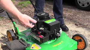 the lawn mower won u0027t start dies help youtube