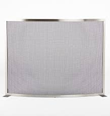 modernist curved fireplace screen rejuvenation