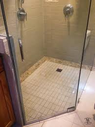 Bathroom Design San Diego zero threshold shower and custom tile bathroom remodelsan diego