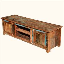 Barn Wood Entertainment Center A
