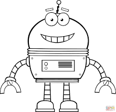 valuable design robot coloring pages 13 interesting decoration