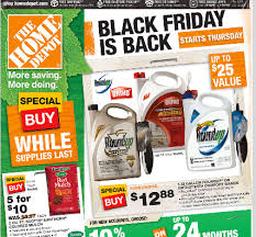 2017 black friday ad home depot home depot black friday coupon car wash voucher