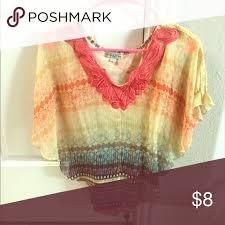 stein mart blouses top tye die looking shirt great with from steinmart tops
