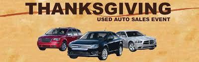 thanksgiving used auto sale michigan credit union