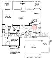 villas of sedona floor plan sedona floorplan 1841 sq ft pebblecreek 55places com
