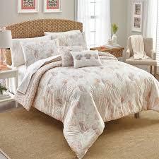 Coastal Comforters Bedding Sets Seascape Reversible 5 Pc Coastal Comforter Bed Set