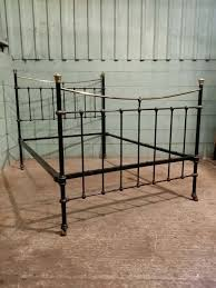 victorian brass and iron double bed stead c1880 antiques atlas