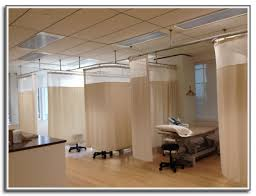hospital curtain tracks cubicle curtain track u0026 privacy rail